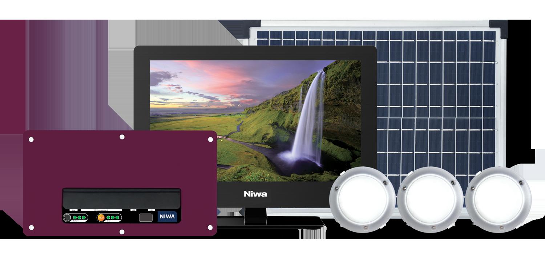 Niwa-Energy20-TV-lighting-solar-system-